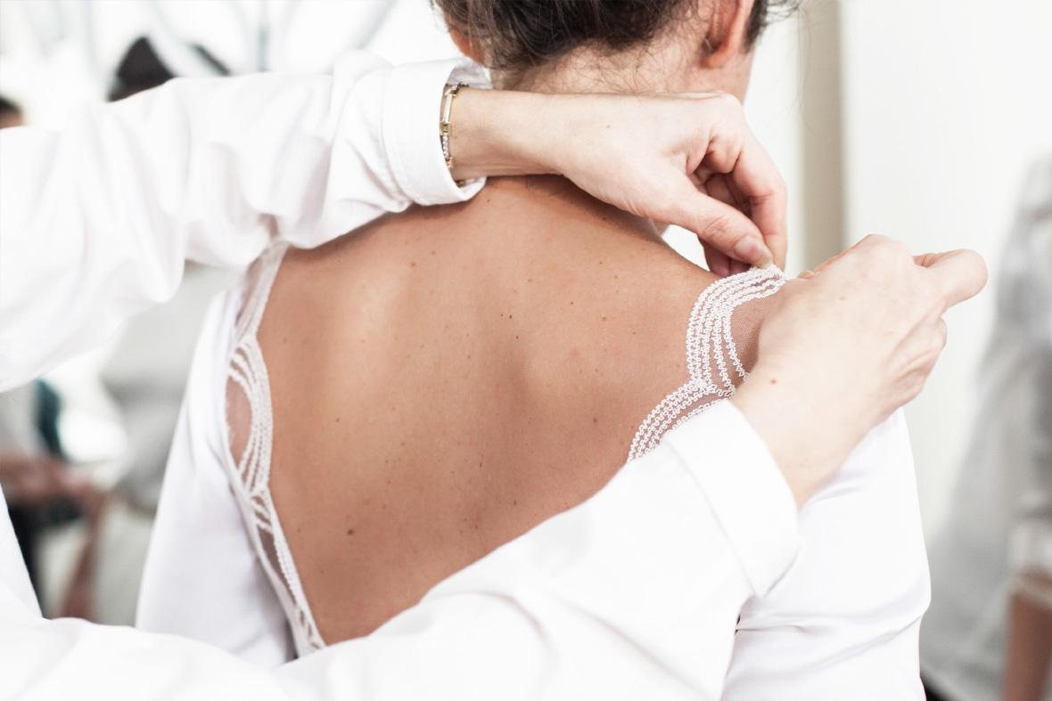 Su atelier es el lugar idóneo para las novias que quieran un diseño exclusivo