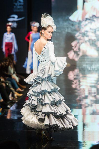 moda flamenca a medida Ariam Beige