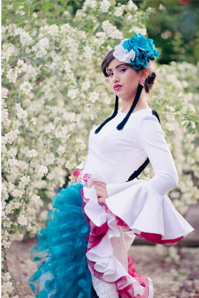 colección de pasarela moda flamenca